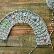 Tulip stitch marker knitting