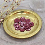 Atelier Brunette glossy-buttons-amarante