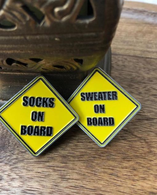 Hey Berry Brown sock:sweater