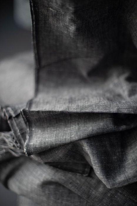 Merchant & Mills Cotton Khadi Denim Slub, Charcoal