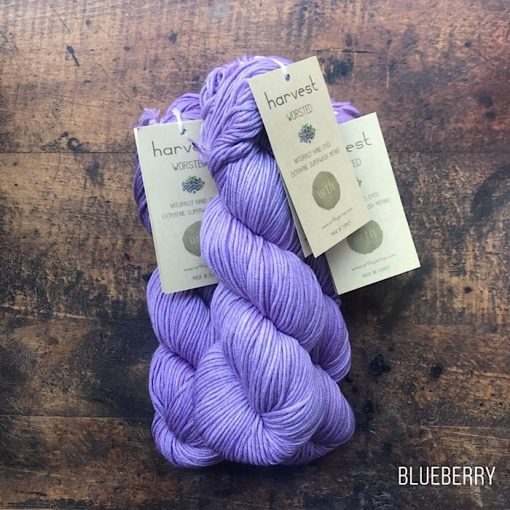 urth yarns worsted blueberry
