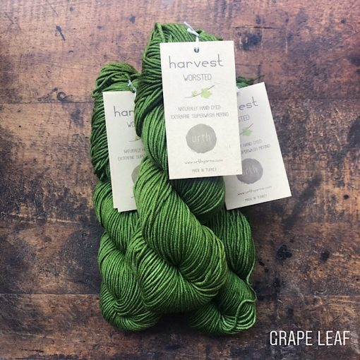 Urth yarns worsted grape leaf