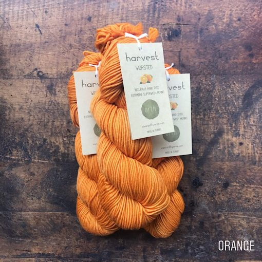 urth yarns worsted orange