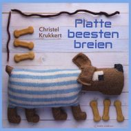 book cover of Platte Beesten Breien - Christel Krukkert