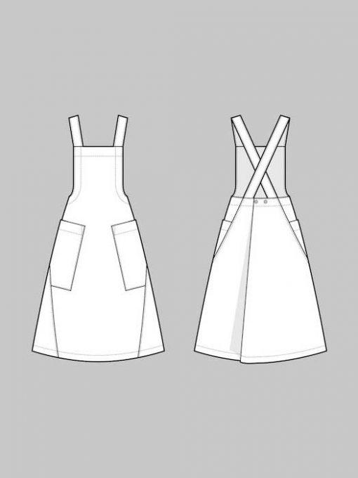 The Assembly Line Apron Dress