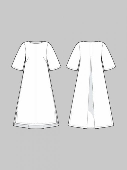 The Assembly Line Box Pleat Dress