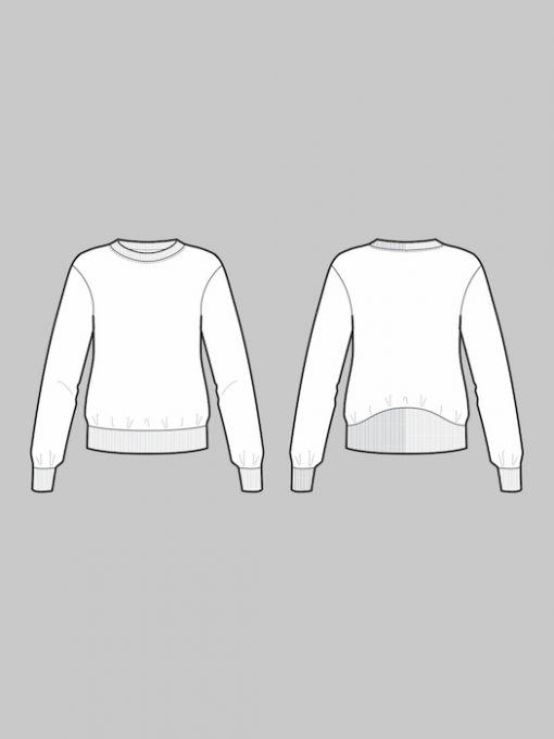 The Assembly Line High Cuff Sweater