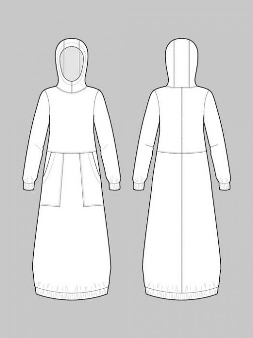 The Assembly Line Hoodie Dress