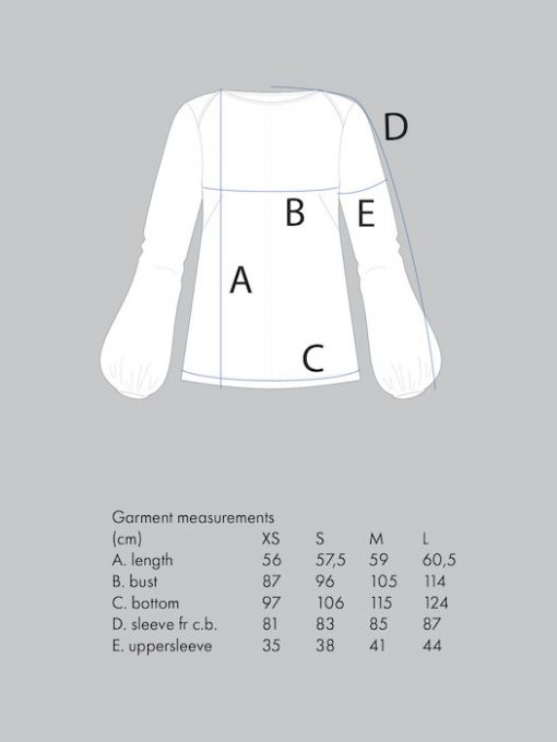 The Assembly Line Puffshirt_measure