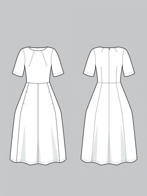 The Assembly Line Tulip Dress
