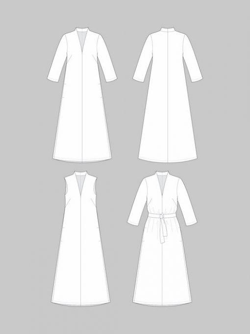 The Assembly Line V-Neck Dress