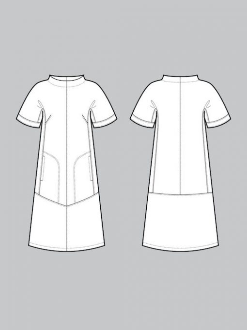 the Assembly Line cap sleeve dress