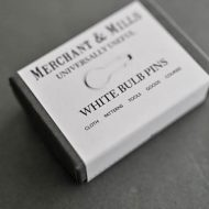 Merchant & Mills white bulb pins