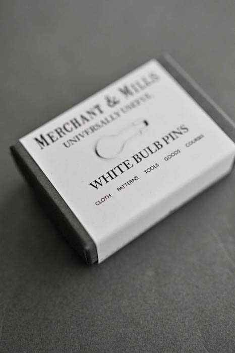 Merchant & Mills white bulb pins