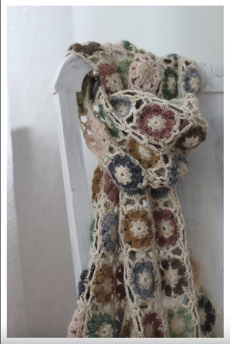 CaMaRose Eugenias scarf