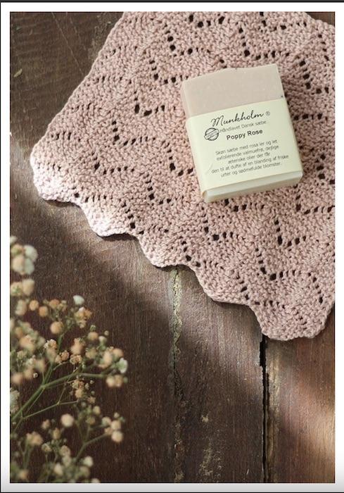 photo camarose knitted dishcloth