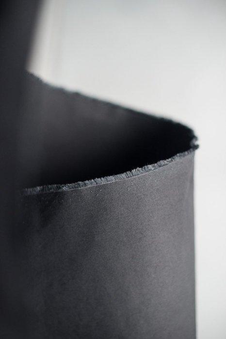 Merchant & Mills Black dry oilskin