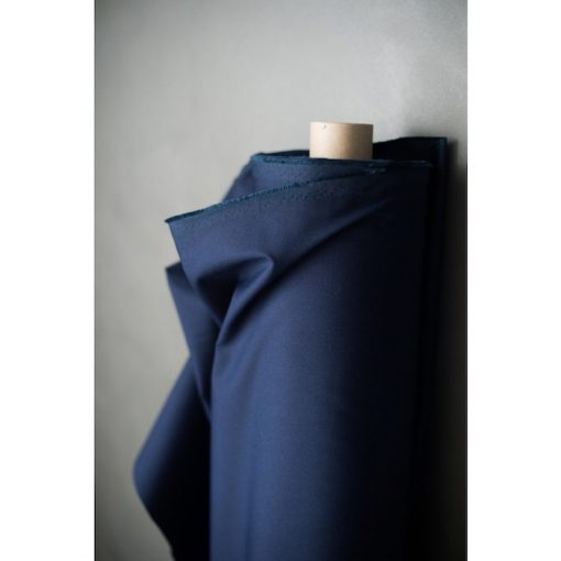 Roll of Dry oilskin fabric in french Navy from Merchant & Mills