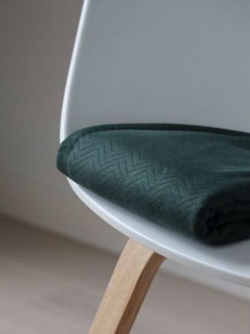 Mind the Maker quilted chevron Deep Green