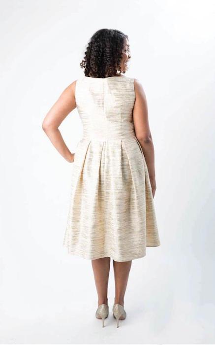Upton Dress Back 1