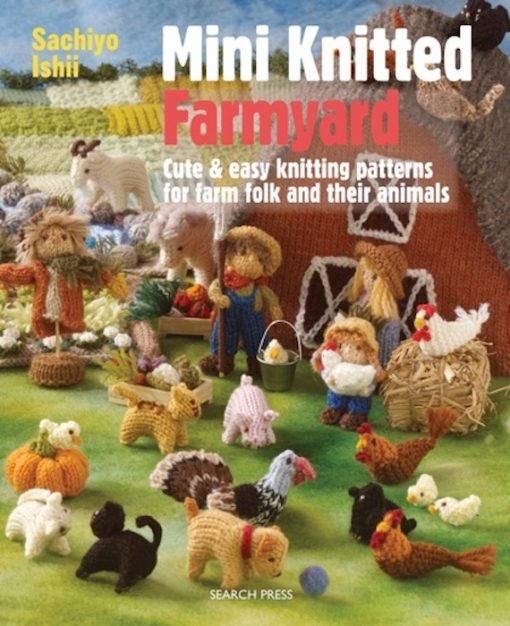 Front Cover of Mini Knitted Farmyard