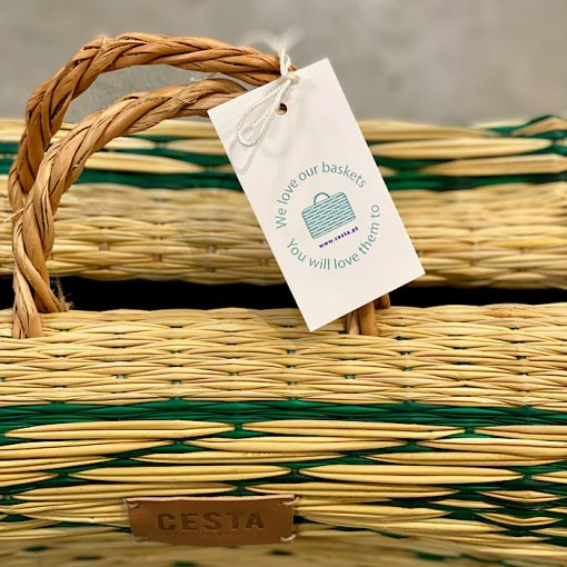product tag on Cesta basket