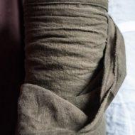 Merchant & Mills Laundered Linen Knapsack