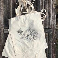 Salina Jane Art Knitters Tote Bag - Knit in defiance