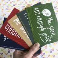 Tilly Flop Designs Postcards for knitters - Postcards of Truth